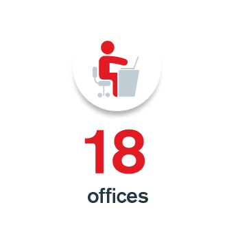 16 offices