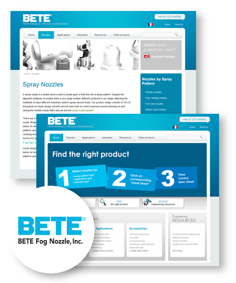 BETE website and logo image