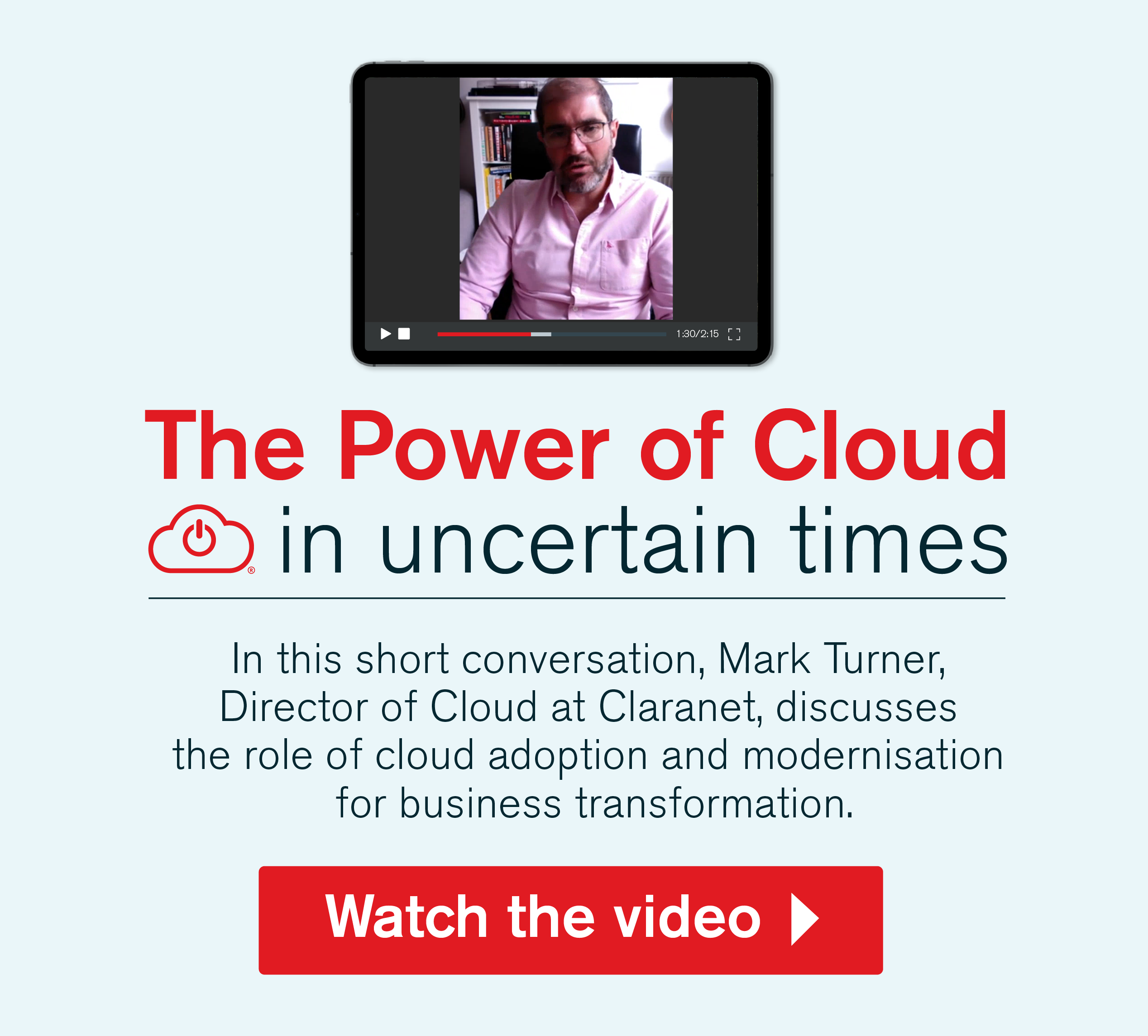 The Power of Cloud - Click here for the video
