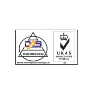 ISP 27001:2013 Accreditation logo