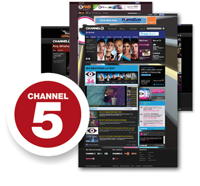 Channel 5 website